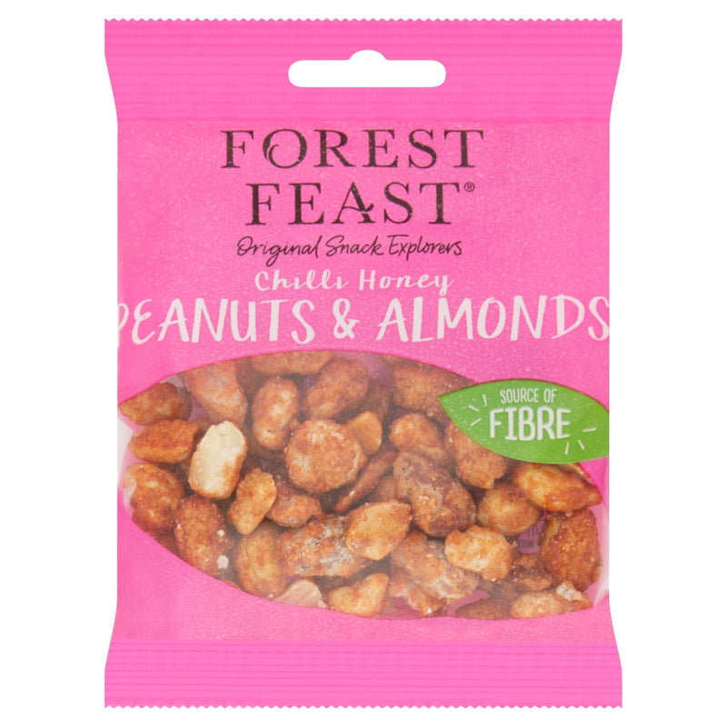 Forest Feast Chilli Honey Peanut & Almond 50g - Shop Mini Kegs