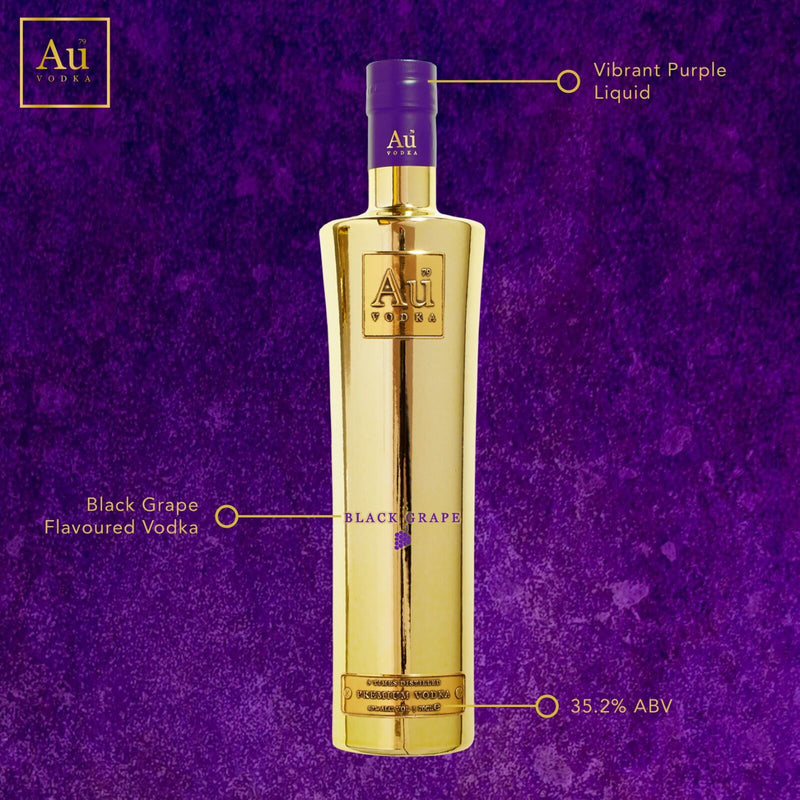 Au Black Grape Vodka 70cl - Cheapest Drinks Online