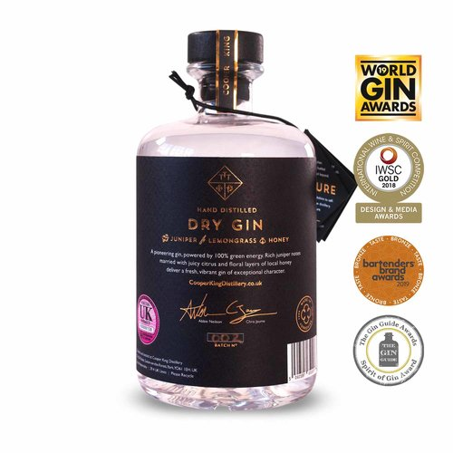 Cooper King Dry Gin 70cl - Cheapest Drinks Online