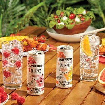 Smirnoff Seltzer Orange & Grapefruit 12x 250ml Case
