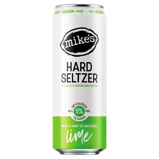Mike's Hard Alcoholic Sparkling Water Lime