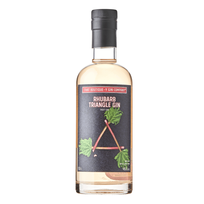 That Boutique-y Gin Company Rhubarb Triangle Gin 70cl - Shop Mini Kegs