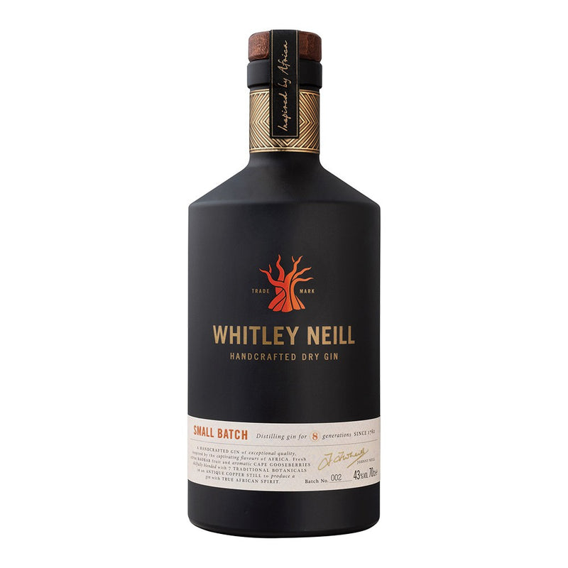 Whitley Neill Dry Gin 70cl - Shop Mini Kegs