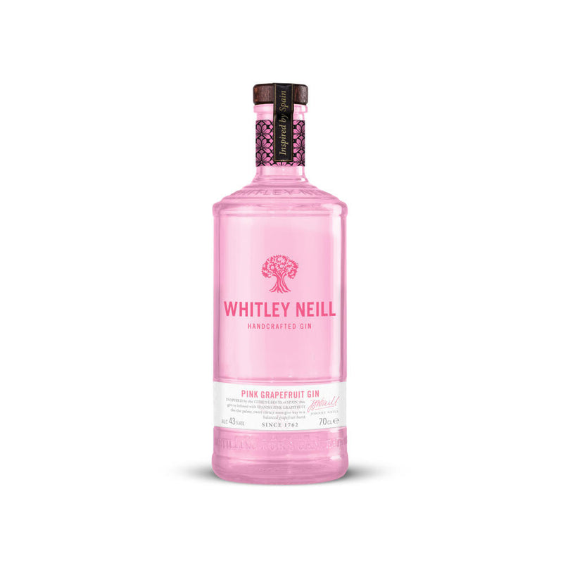 Whitley Neill Pink Grapefruit Gin 70cl - Cheapest Drinks Online