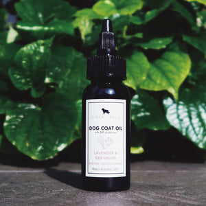 Pet Coat Oil (Lavender & Geranium)