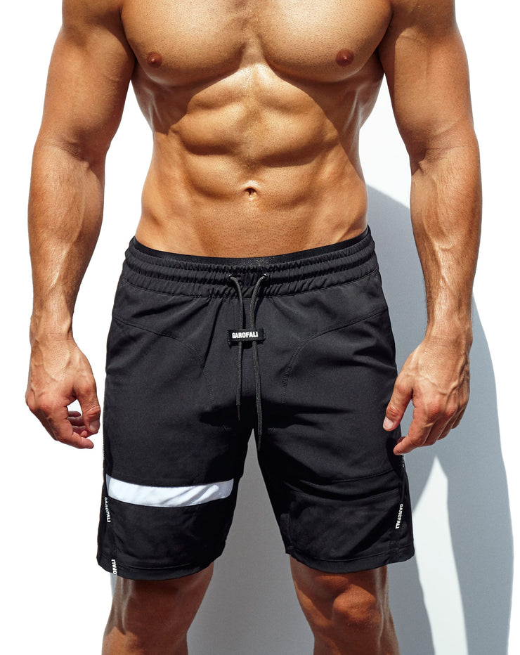 8-Inch Athletic Short (Black)