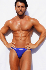 Split Jock Brief (Blue)