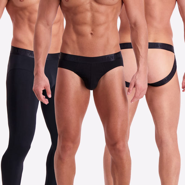 Underwear Capsule 2 (Triple Black)