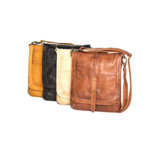 Rugged Hide Broome Leather Crossbody Bag