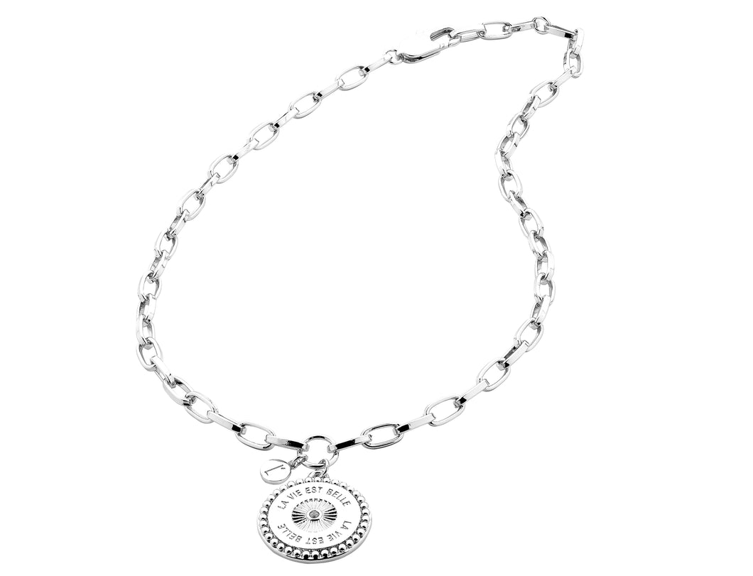 Liberte Belle Necklace - Silver