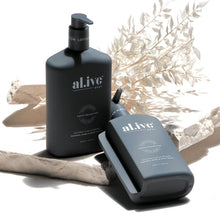 Al.ive Wash & Lotion Duo + Tray - Coconut & Wild Orange
