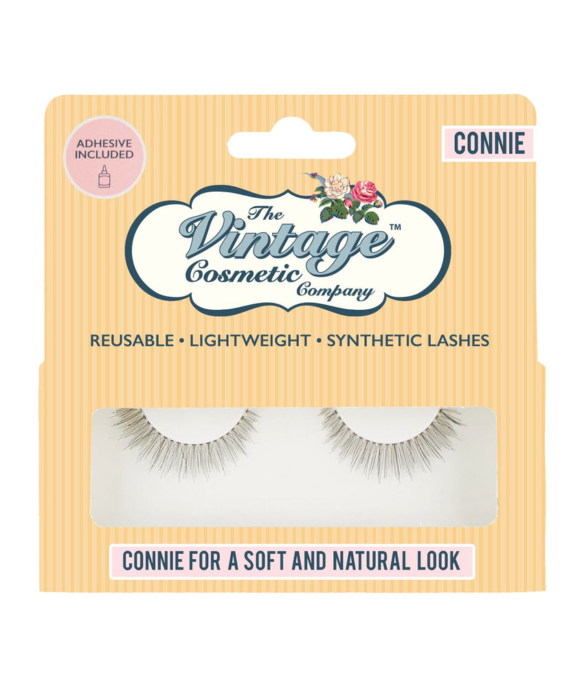 Connie False Strip Lashes day time lash