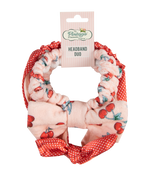 Cherry Print Headband Duo Set