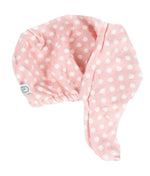 Hair Turban Pink Polka Dot