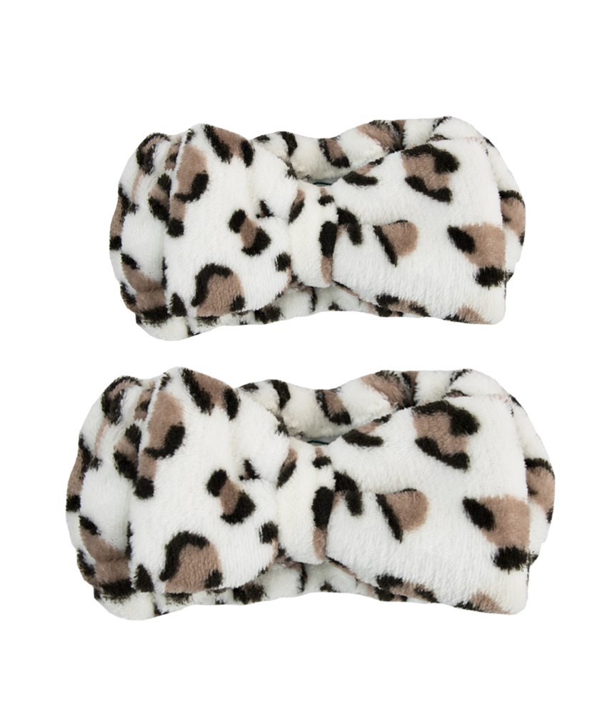 Little Darling & Me Make-up Headband Leopard Print