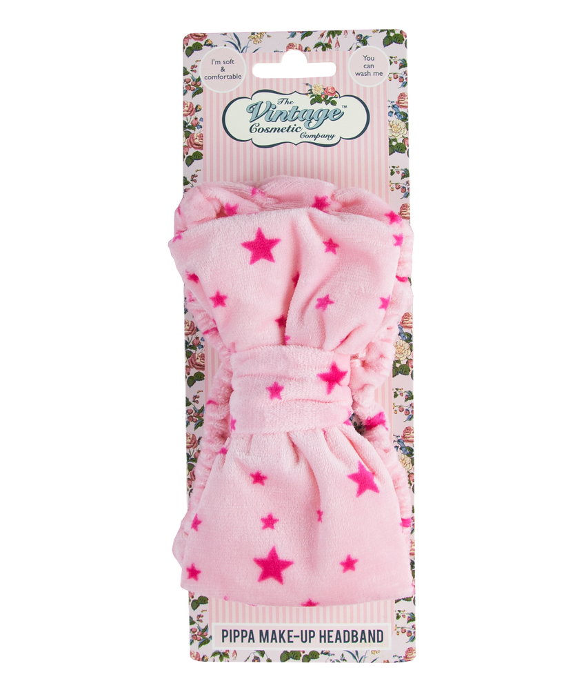 Pippa Make-Up Headband pink star headband