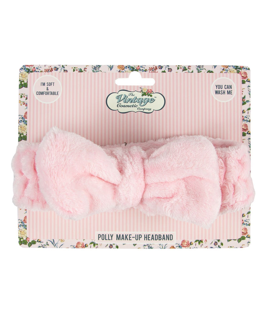 Polly Make-up Headband baby pink