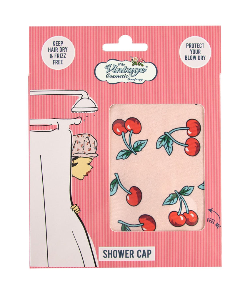 Shower Cap Cherry boxed