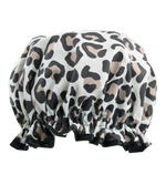 Shower Cap Leopard Print
