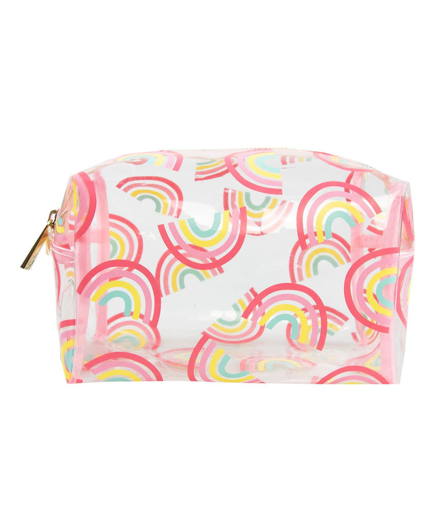 Make-up Bag Pink Rainbow