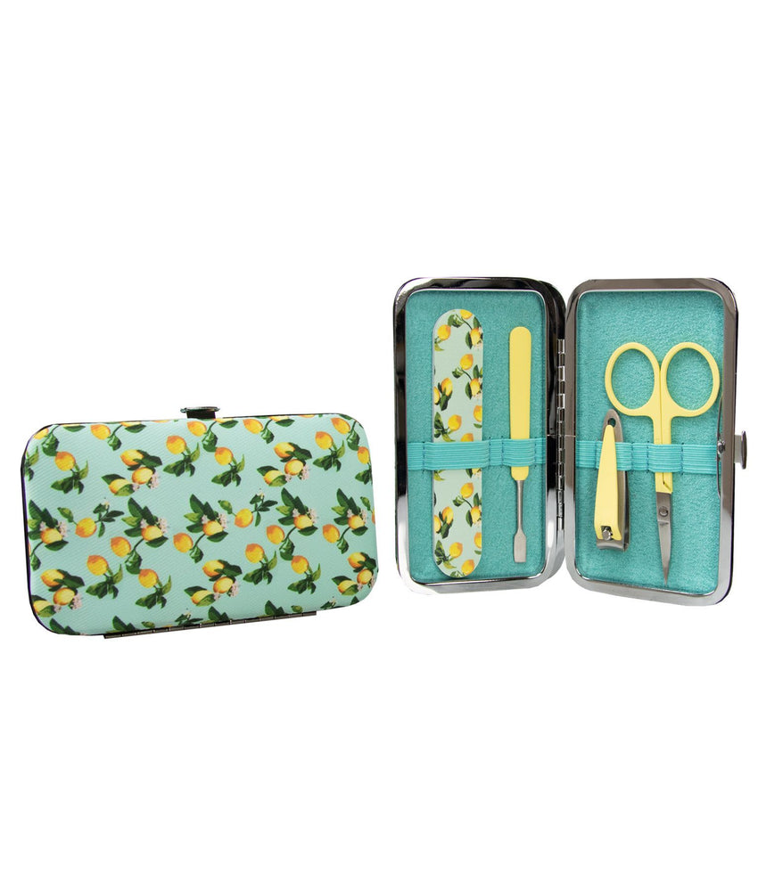 Manicure Purse Lemon