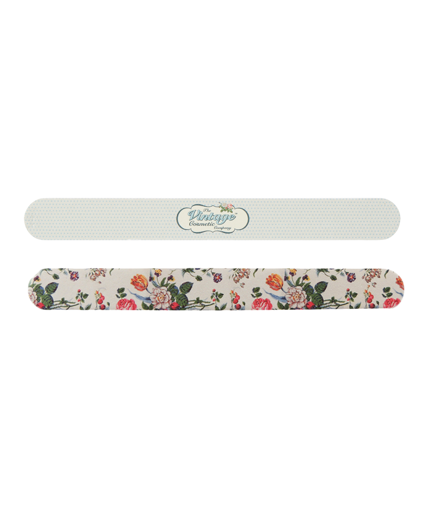 Twin Pack Emery Boards Floral