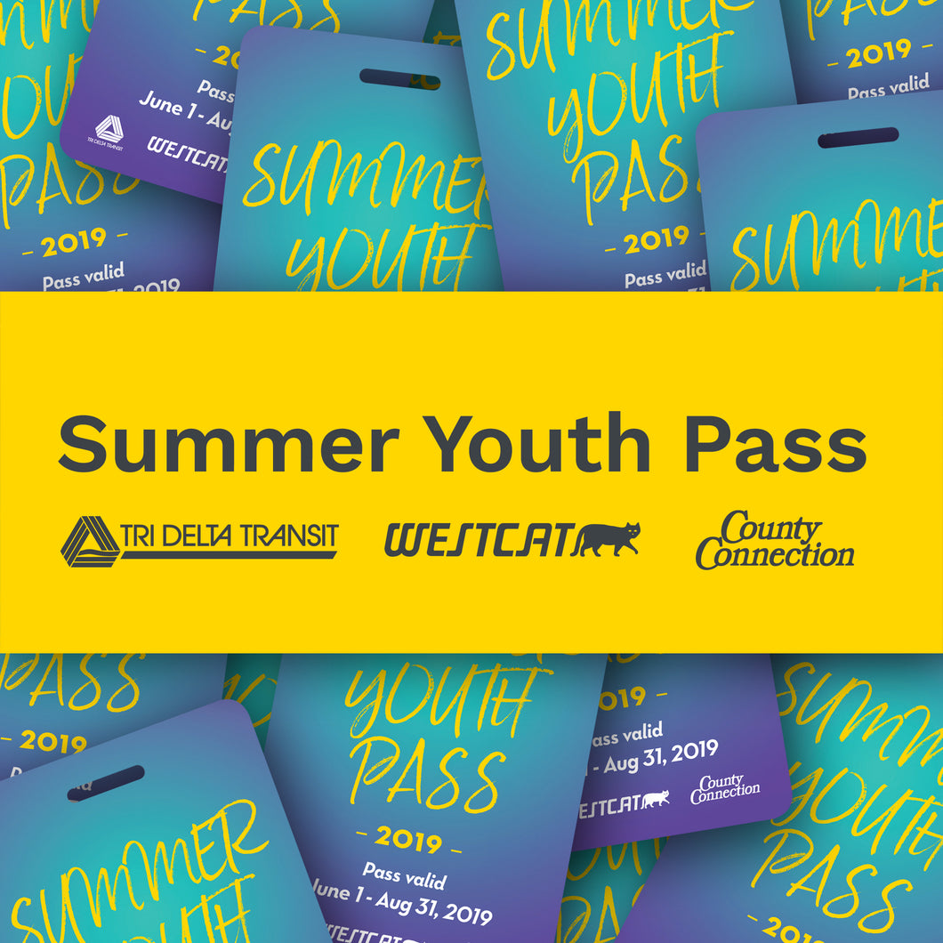 2019 Summer Youth Pass