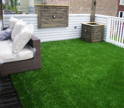 Grass Patio