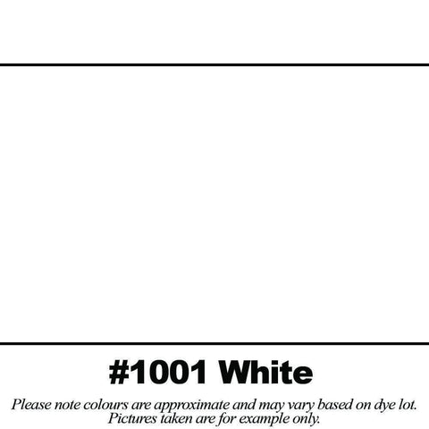 "#1001 White Broadcloth (45"" Wide) - HomeTex.ca"