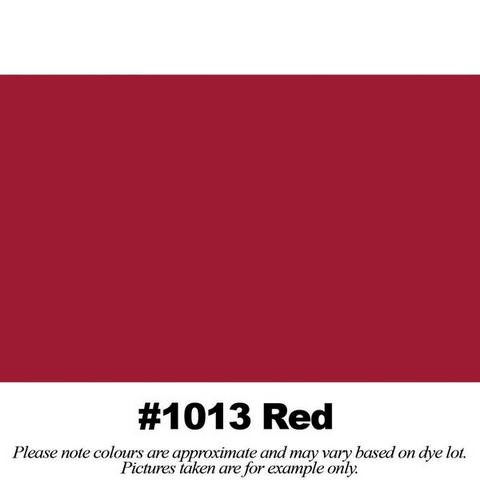 "#1013 Red Broadcloth (45"" Wide) - HomeTex.ca"