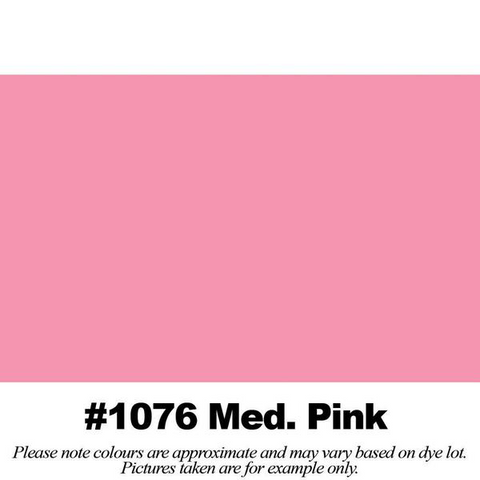 "#1076 Medium Pink Broadcloth (45"" Wide) - HomeTex.ca"