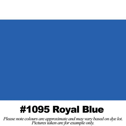 "#1095 Royal Blue Broadcloth (45"" Wide) - HomeTex.ca"