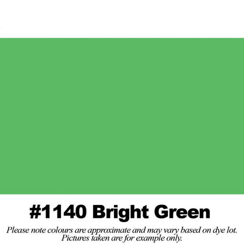 "#1140 Bright Green Broadcloth (45"" Wide) - HomeTex.ca"