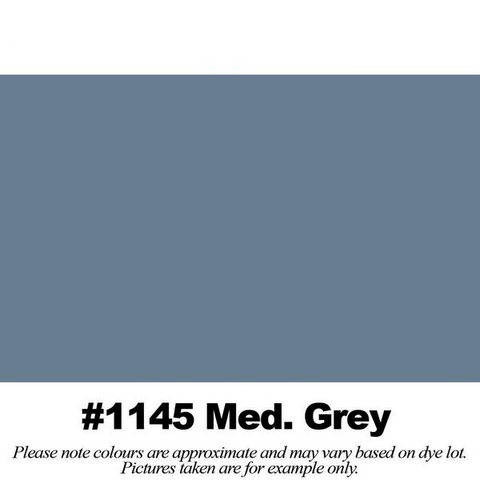 "#1145 Medium Grey Broadcloth (45"" Wide) - HomeTex.ca"