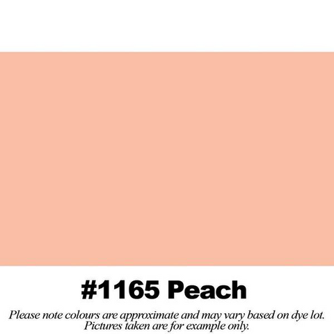 "#1165 Peach Broadcloth (45"" Wide) - HomeTex.ca"
