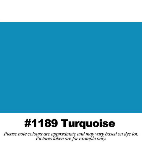 "#1189 Turquoise Broadcloth (45"" Wide) - HomeTex.ca"