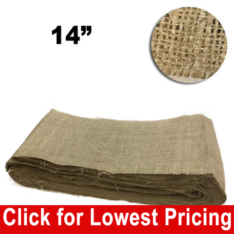 "14"" Wide Burlap Full Roll - 100 Yards - HomeTex.ca"