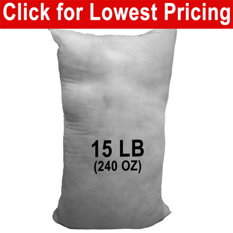 15 lb Bag - Polyester Stuffing - HomeTex.ca