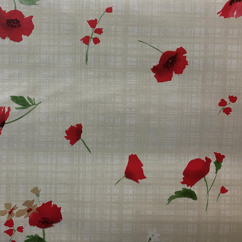 "Oilcloth Printed Vinyl Tabling 54"" Wide - Majestic - HomeTex.ca"