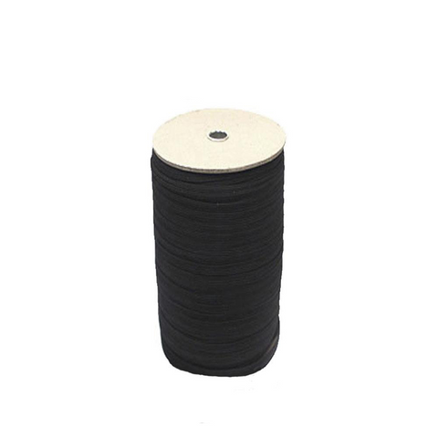 "3/4"" Black Elastic Roll (137 Yards) - HomeTex.ca"