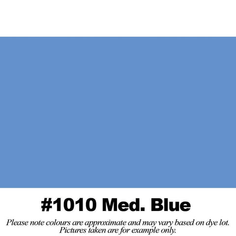 "#1010 Medium Blue Broadcloth (45"" Wide) - HomeTex.ca"