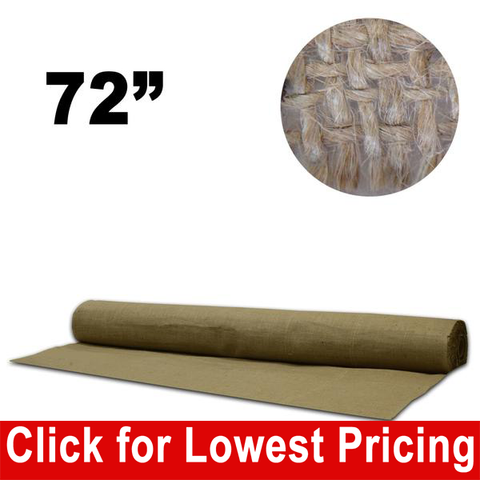 "72"" Wide Burlap (Full 30 Metres) - HomeTex.ca"