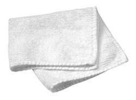 "White Face Cloths 12"" x 12"" - 3 pcs- Gift FREE with $100 order - HomeTex.ca"