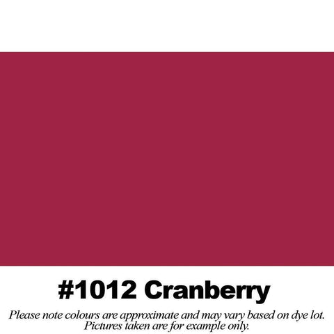 "#1012 Cranberry Broadcloth (45"" Wide) - HomeTex.ca"