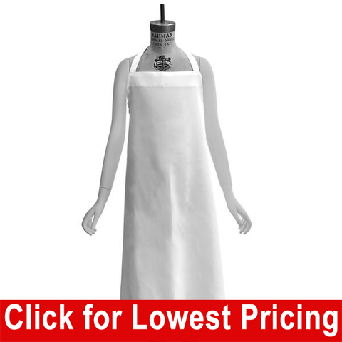 Apron - White (Polyester) - HomeTex.ca