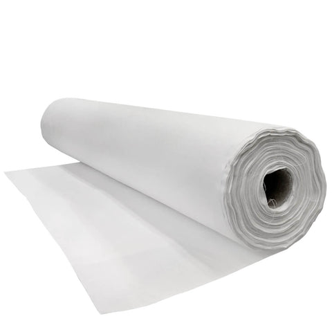 "White Backdrop Fabric - 95"" x 50 Meter Full Roll - HomeTex.ca"