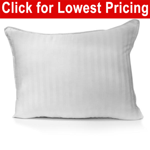 "Bed Pillow 20"" x 30"" Queen Size Damask Shell - HomeTex.ca"