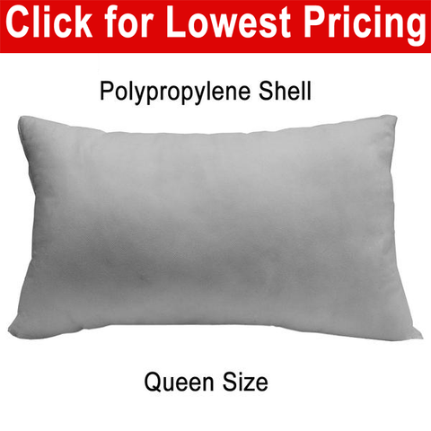 "Pillow Form 20"" X 30"" (Polyester Fill) Bed Pillow - HomeTex.ca"