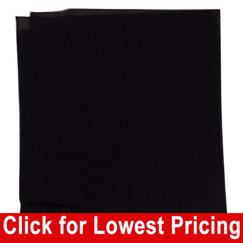 Black Bandanas - 100% Cotton - Solid Color Bandana - Single - HomeTex.ca