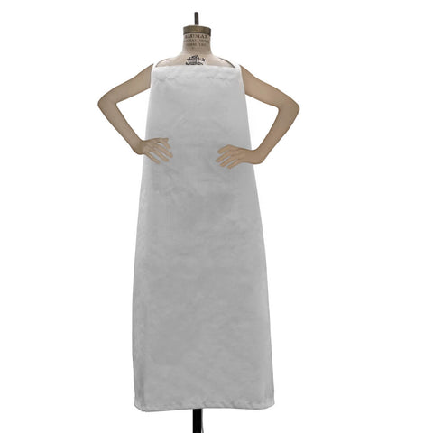 White Chef Apron (Single) Gift FREE with $100 order - HomeTex.ca